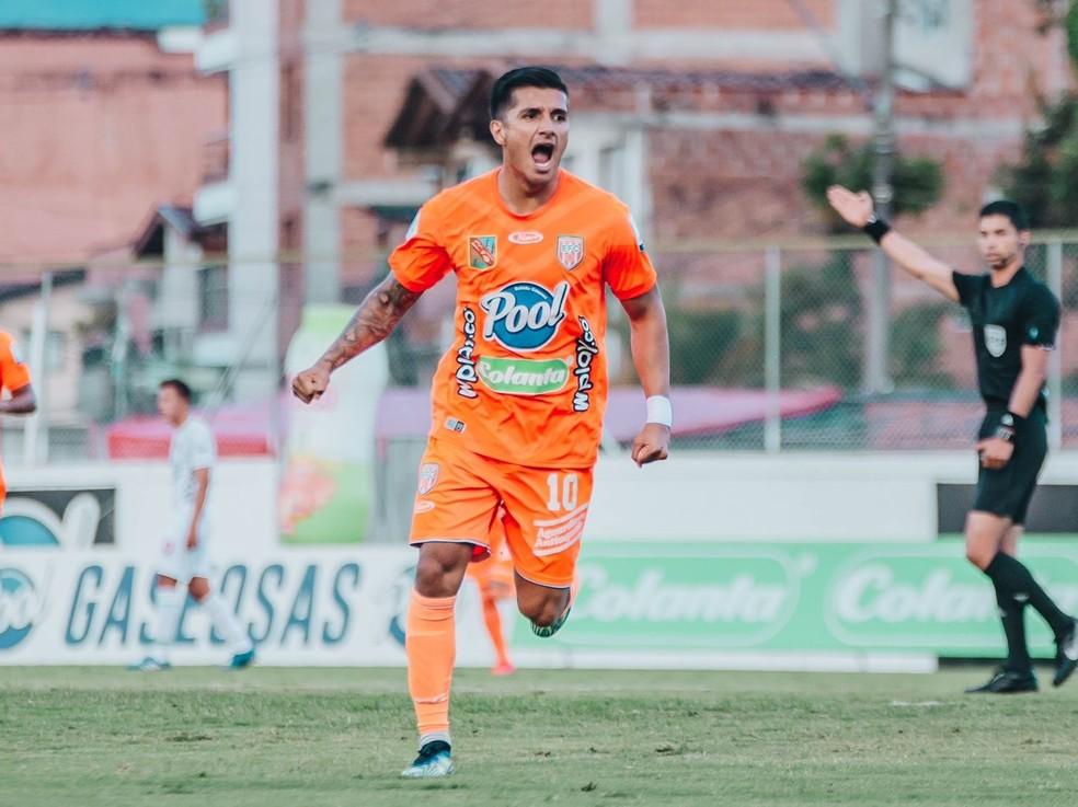 Yeison Guzmán Envigado — Foto: Divulgação/ Envigado