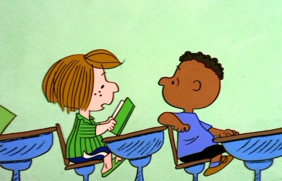 Há 50 anos, Snoopy recebia Franklin, seu primeiro personagem