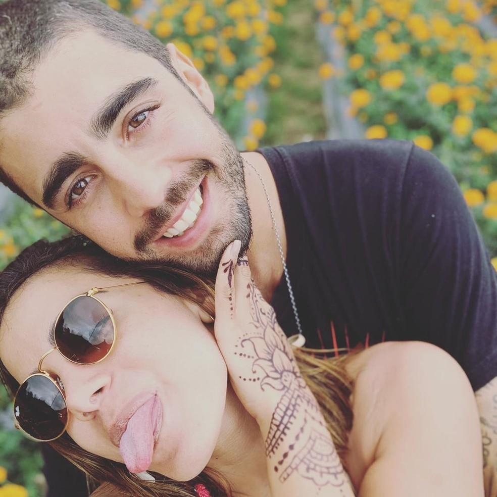 Anitta diz que sabe a senha do celular de Pedro Scooby — Foto: Reprodução/Instagram