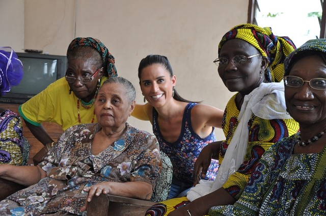 Repórter do 'Globo cidadania' faz matéria especial em Benin