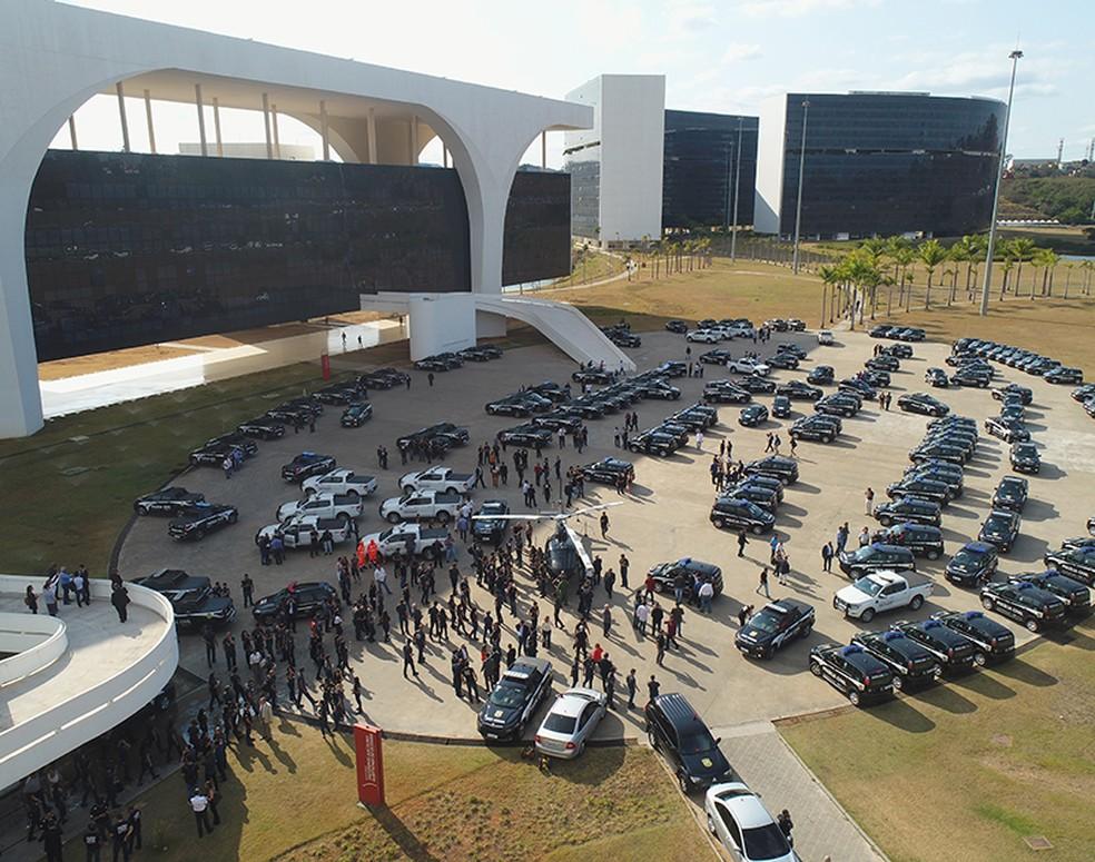 Cidades da Zona da Mata e Campo das Vertentes estão entre as que receberam viaturas do Governo de Minas para a Polícia Civil — Foto: Polícia Civil/Divulgação