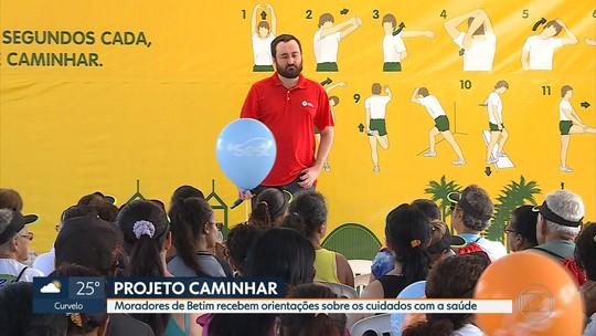 Projeto Caminhar movimenta a Praça Milton Campos em Betim
