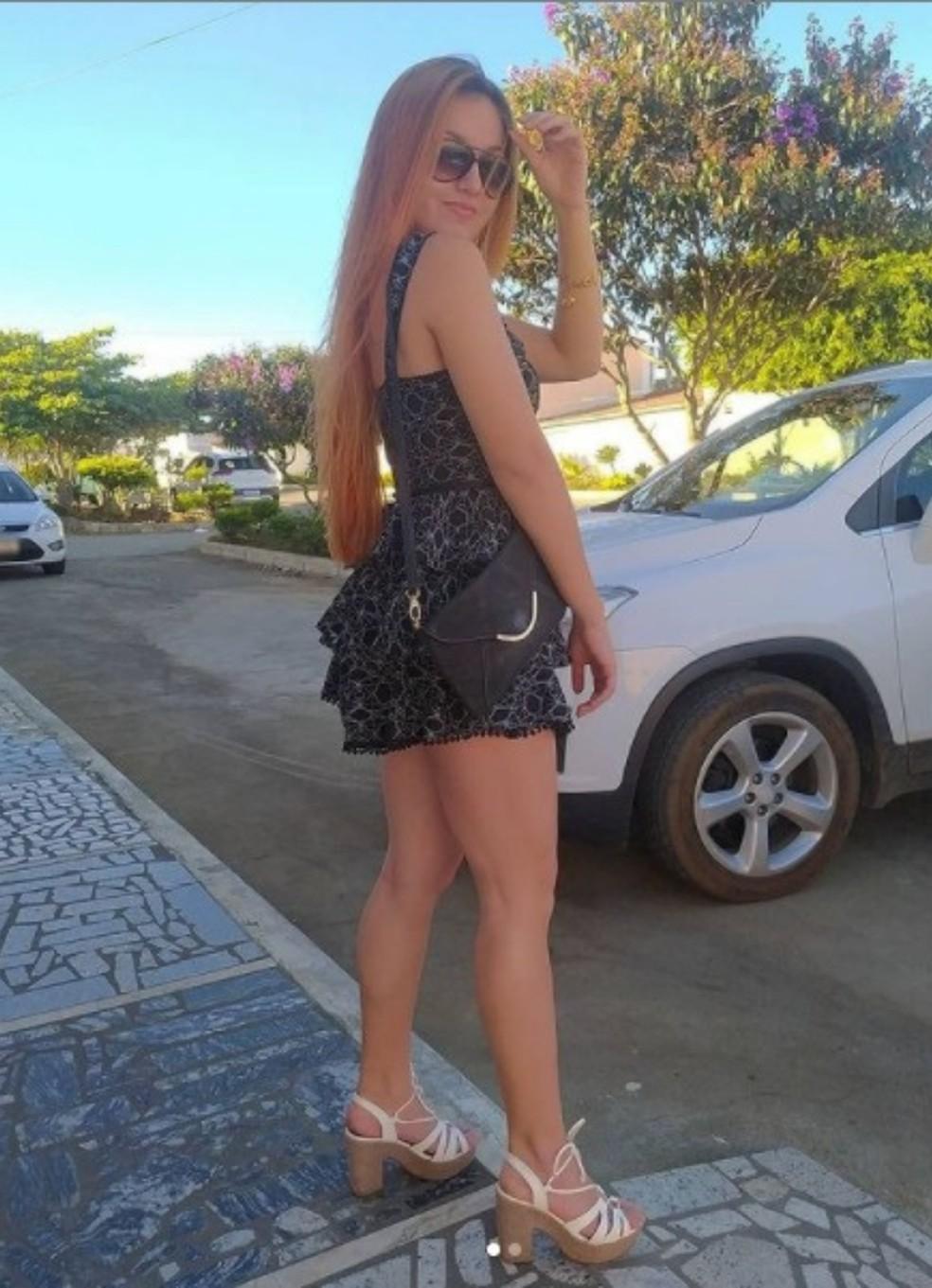 Sashira Camilly Cunha Silva foi encontrada morta nesta quinta-feira (16) — Foto: Reprodução/Redes Sociais