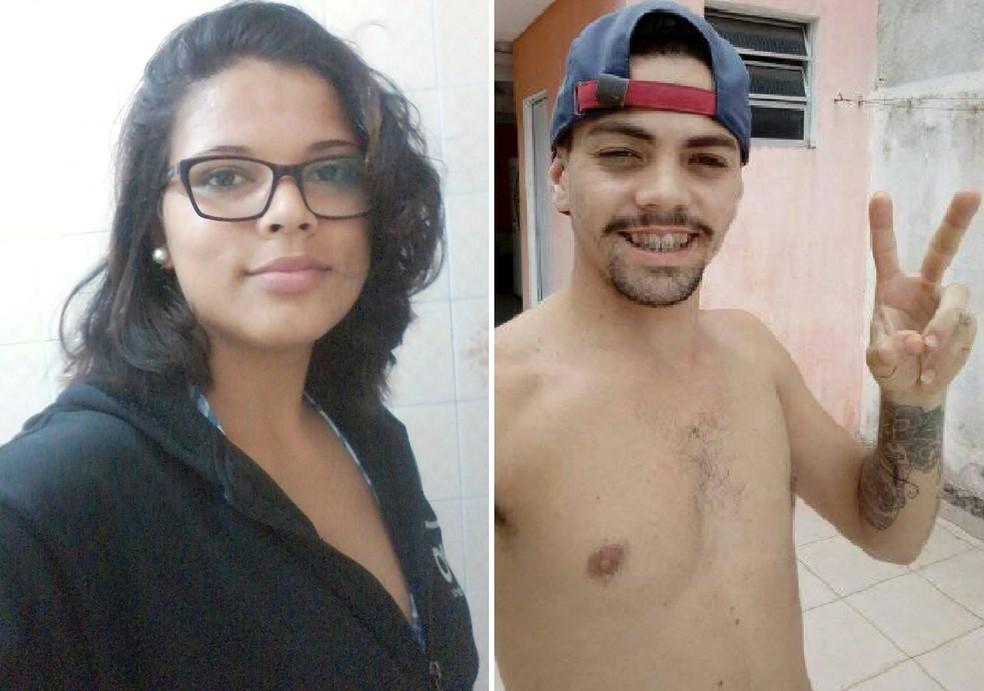 Vitoria foi morta a facadas pelo próprio irmão Pedro em Mongaguá, SP (Foto: Arquivo Pessoal)