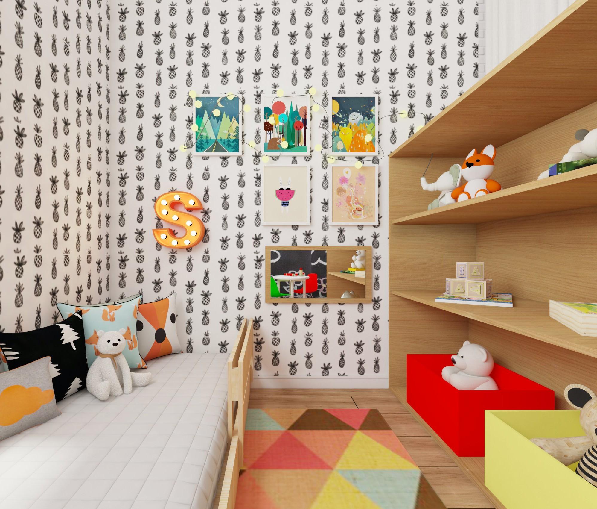 O quarto na casa de Preta Gil foi cedido para seu filho Francisco, a esposa, Laura Fernandes, e a filha do casal, Sol (Foto: Arquivo pessoal/ Anny Meisler)