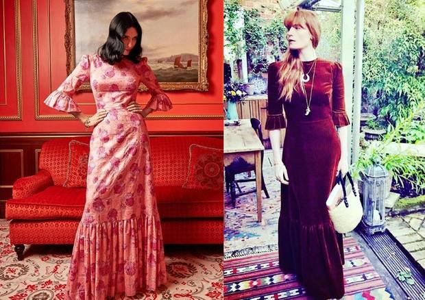 Susie Cave e Florence Welch (Foto: Reprodução/Instagram)