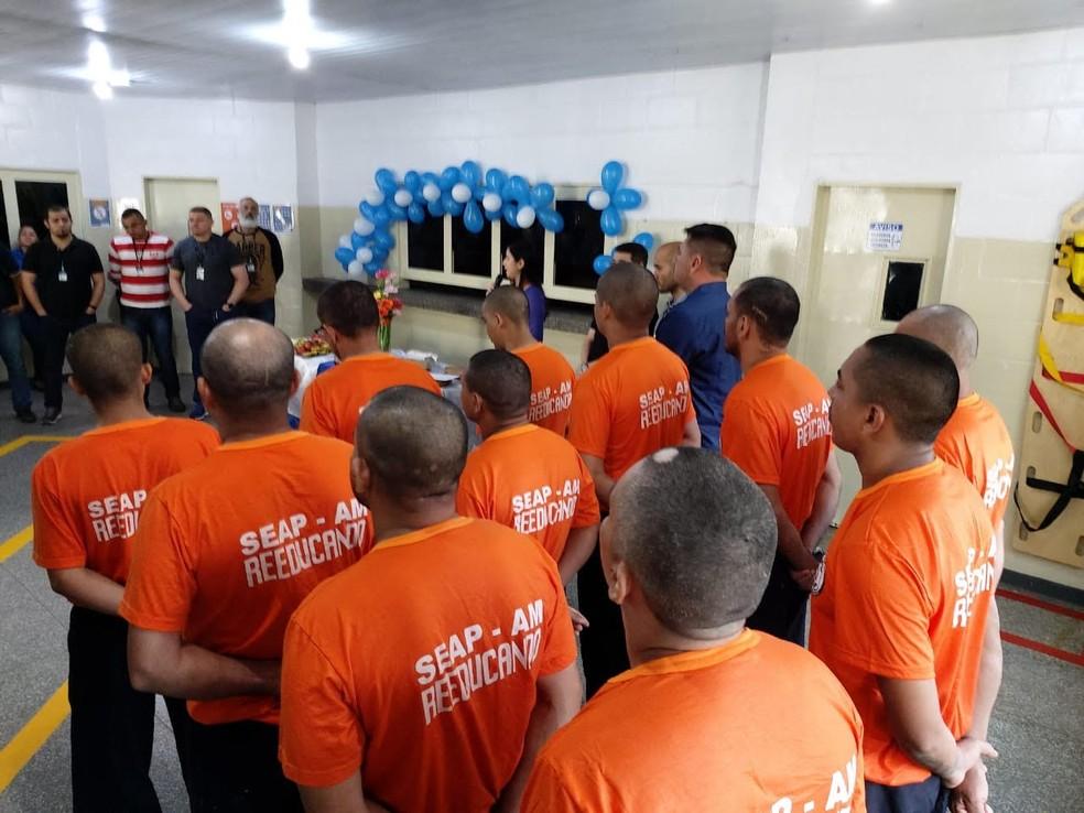Detentos finalizam curso de Eletricista Predial no Ipat, diz Seap — Foto: Divulgação/Seap