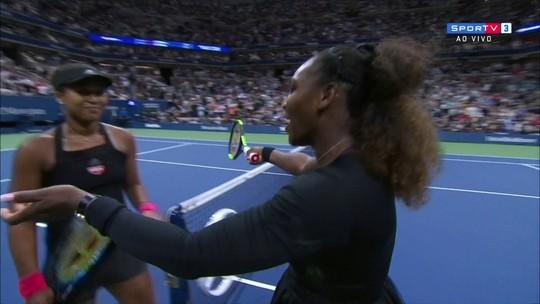 """Serena arma """"barraco"""", Osaka volta a surpreender e é campeã do US Open"""