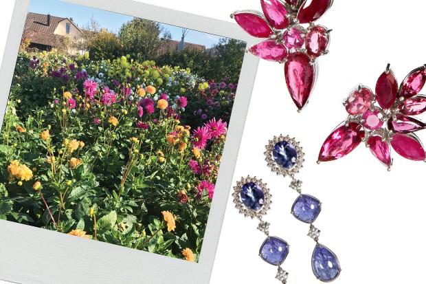 As joias inspiradas na primavera suíça, da nova coleção de Mario Pantalena (Foto: Divulgação)