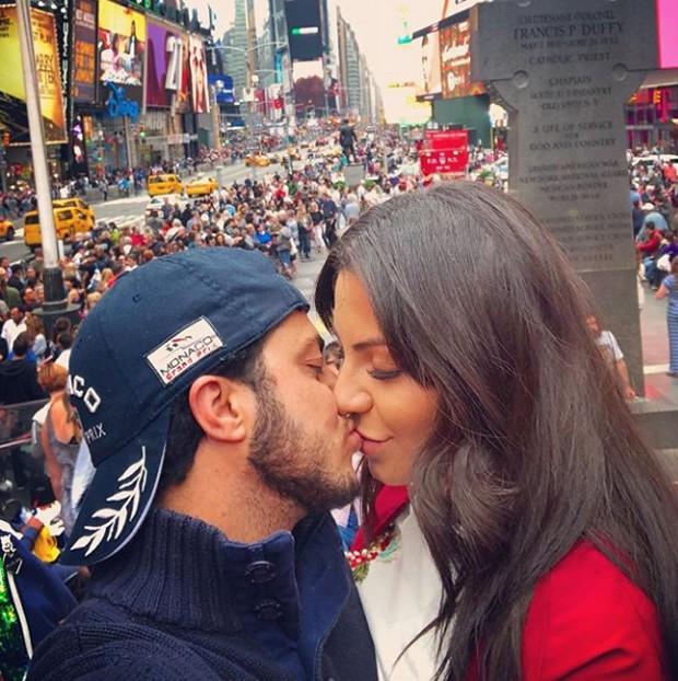 Thammy Miranda e Andressa em NY (Foto: Reprodução / Instagram)