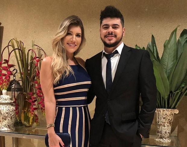 Paula Vaccari e o sertanejo Cristiano (Foto: Reprodução/Instagram)