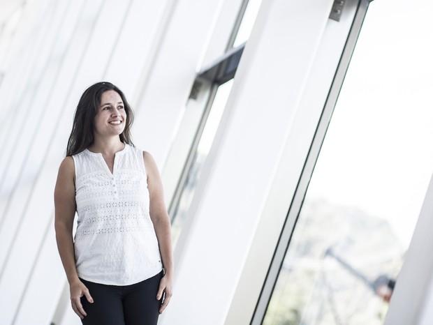 A pesquisadora Rafaela Ferreira, da UFMG (Foto: Divulgação)