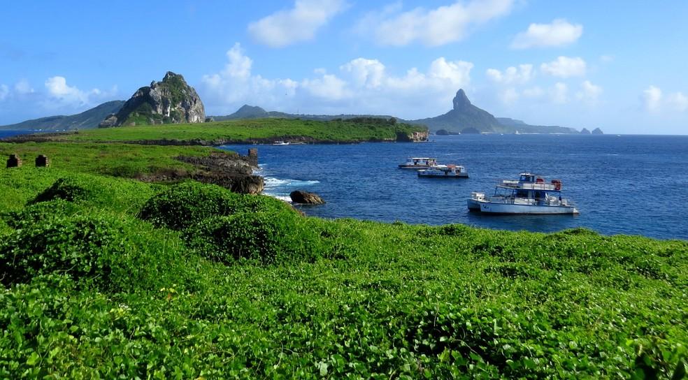 Ilha Rata é a segunda maior do arquipélago  — Foto: Ana Clara Marinho/TV Globo