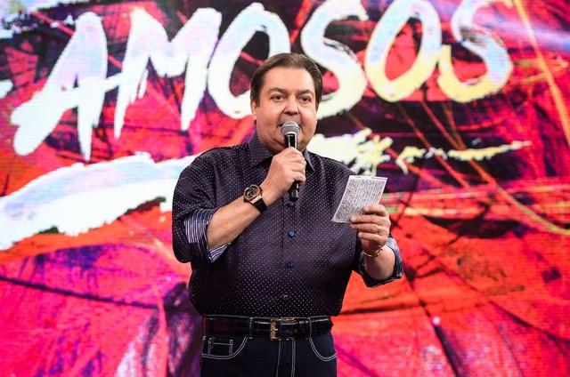 Fausto Silva  (Foto: Globo/Ramón Vasconcelos)