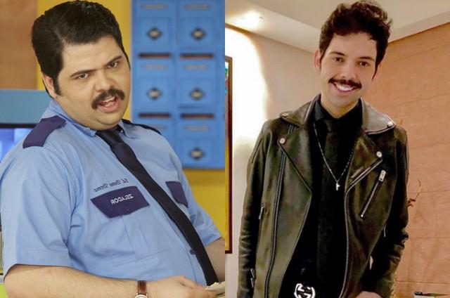 Gustavo Mendes antes e depois de emagrecer (Foto: Reprodução)