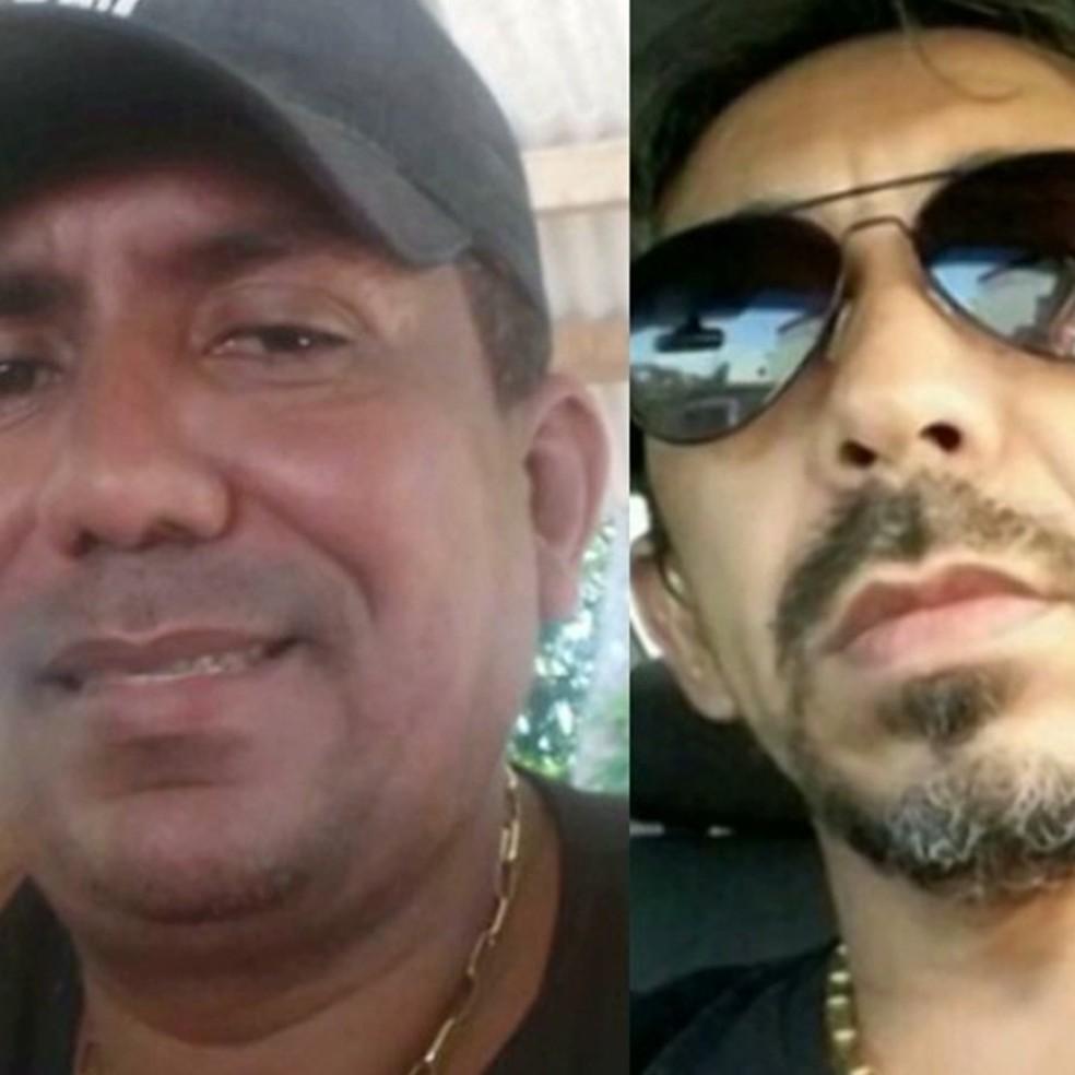 Soldado Alberto e Cabo Júlio Pereira, da Polícia Militar, desapareceram no dia 17 de novembro de 2016. — Foto: Foto montagem:G1