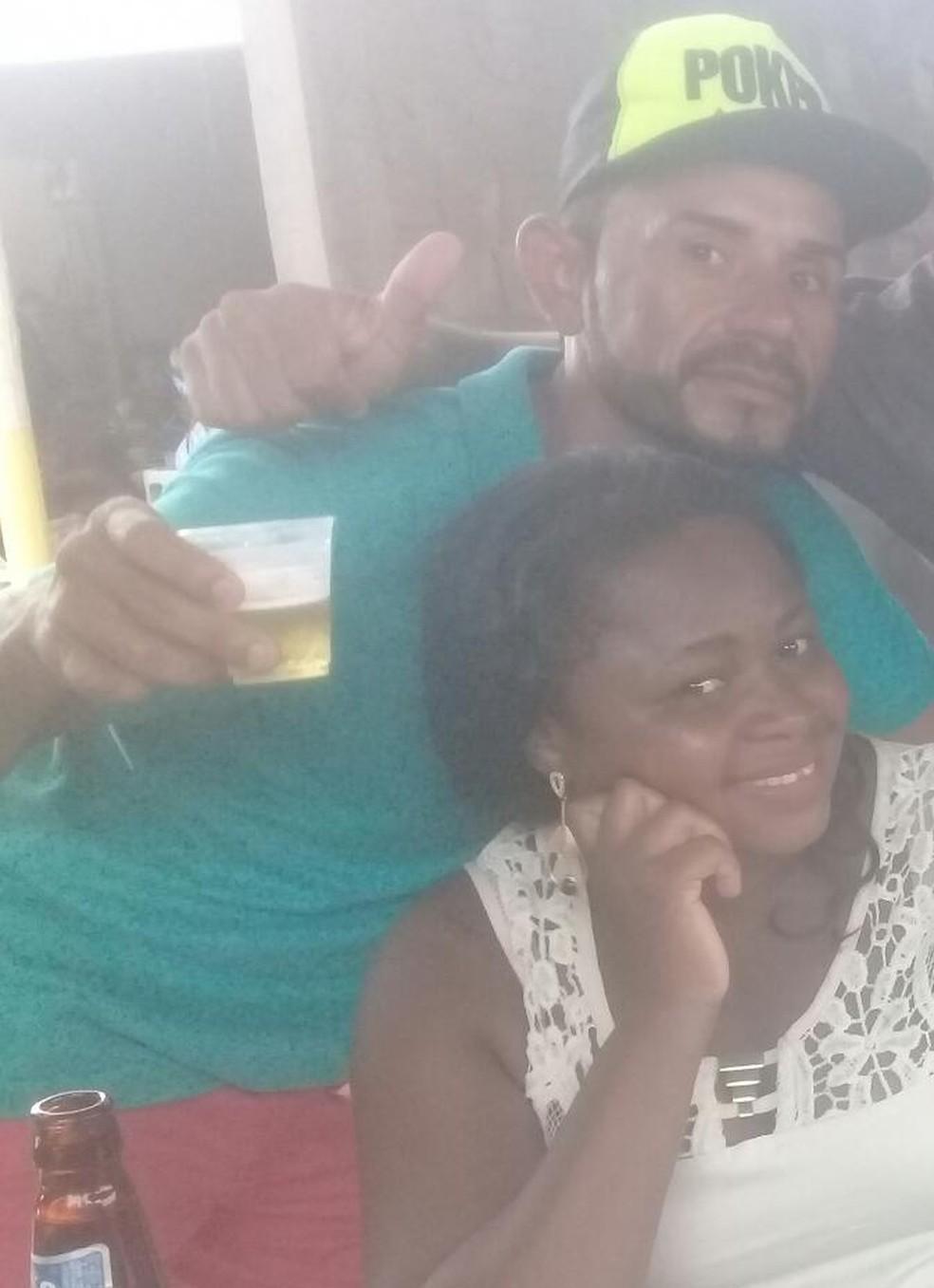 Concilma e Francisco tinham um relacionamento conturbado, segundo a polícia (Foto: Divulgação/Polícia Civil)