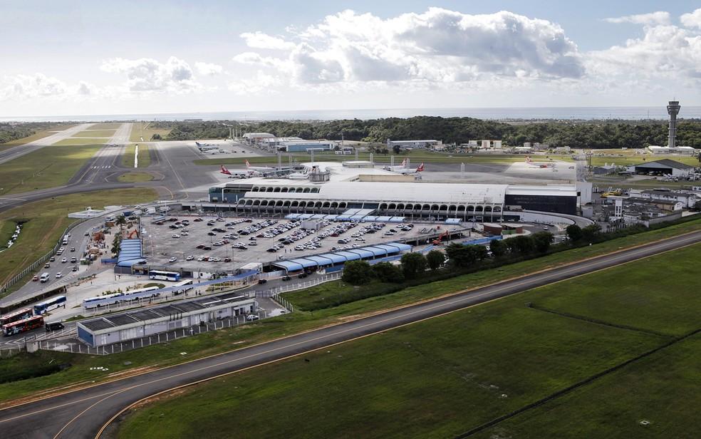 Aeroporto de Salvador (Foto: Manu Dias/ Secom)