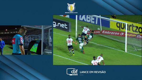 Central do Apito: Paulo César de Oliveira vê gol mal anulado do Goiás em empata com o Vasco