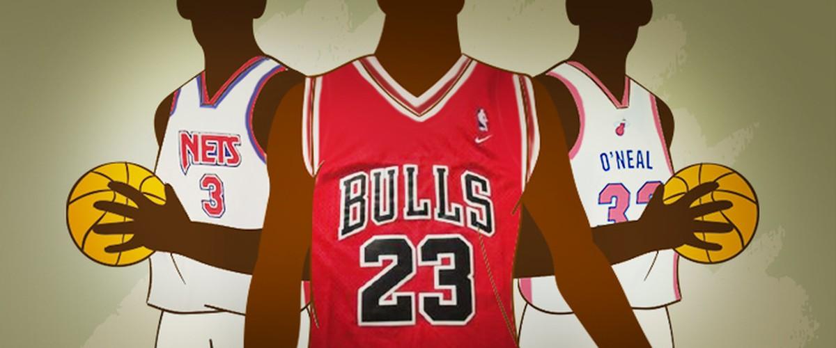 1cc03ff5a0 De torcida a jogador de futebol americano  as curiosas camisas aposentadas  na NBA