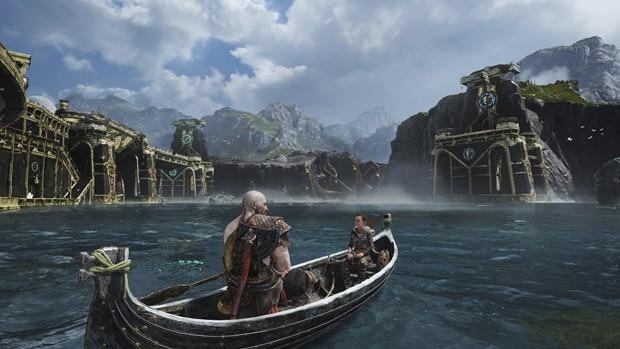God of War se dá ao luxo de ter mais momentos de calma - e isso exige personagens mais expressivos (Foto: Divulgação)