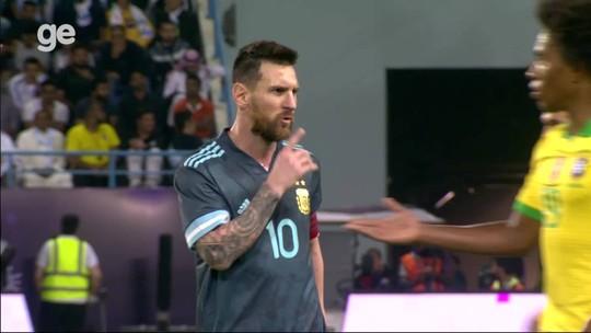 """Tite revela discussão com Messi: """"Ele me mandou calar a boca, eu mandei ele""""; veja o vídeo"""