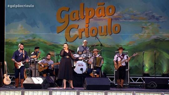 'Galpão Crioulo' apresentou a 2ª parte do especial na Festa Nacional da Música; veja os vídeos