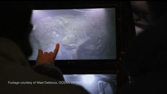 Vídeo mostra momento em que submarino é encontrado na Argentina