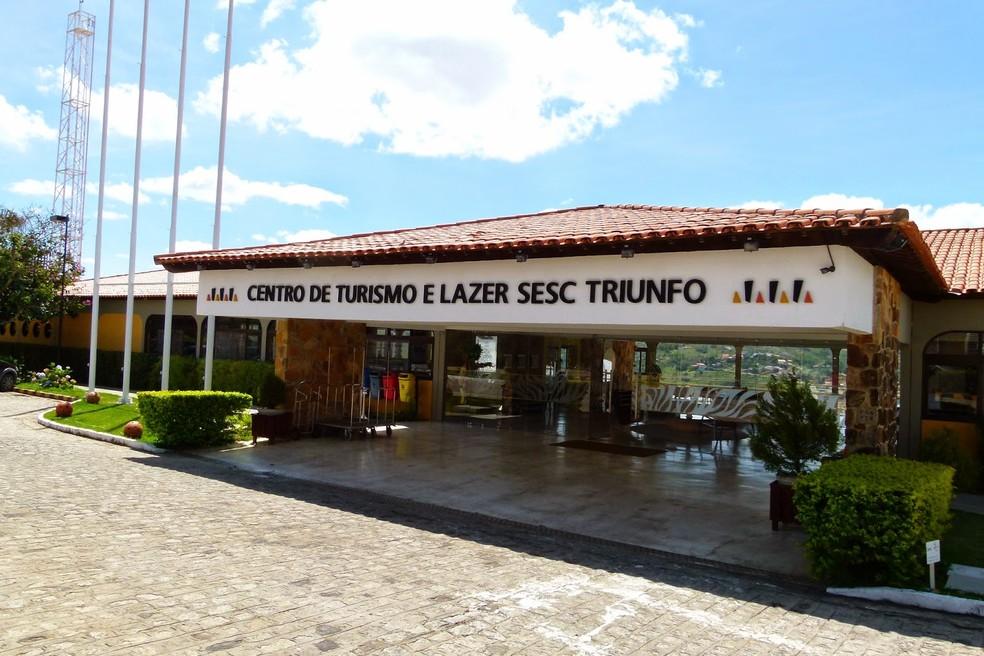 Unidade do Sesc em Triunfo, no Sertão — Foto: Divulgação