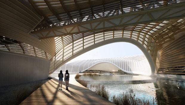 Projeto promete restaurar biodiversidade afetada por poluição no maior rio da China (Foto: Divulgação)