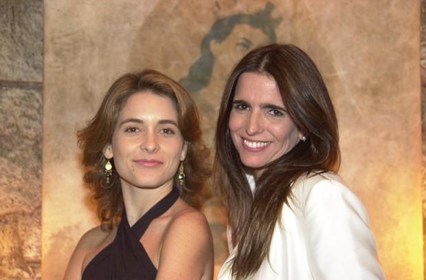Claudia Abreu e Malu Mader em Celebridades (Foto:  TV Globo / Gianne Carvalho)