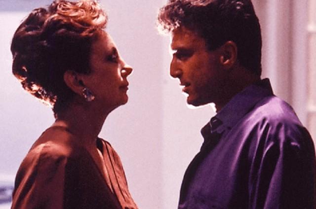 Beatriz Segall e Carlos Alberto Riccelli em 'Vale tudo' (Foto: Arquivo)
