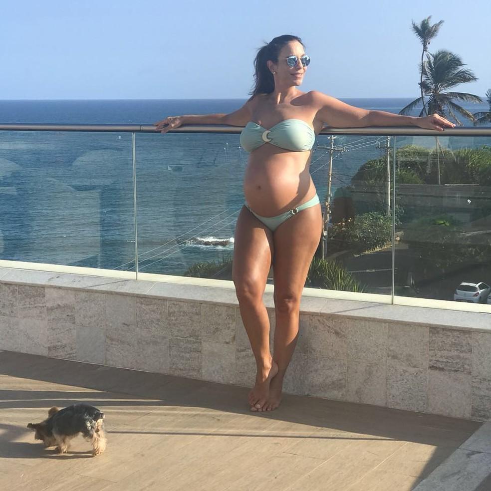 Ivete Sangalo fala sobre os cuidados com o corpo na segunda gestação: 'O inchaço vem de alimentação e dos seus hábitos' (Foto: Arquivo Pessoal)
