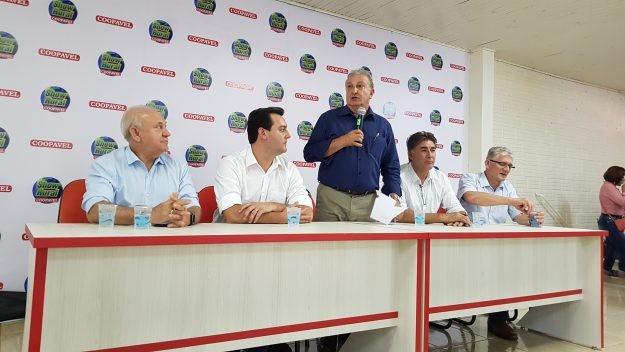 Coletiva Coopavel (Foto: Coopavel/Divulgação)