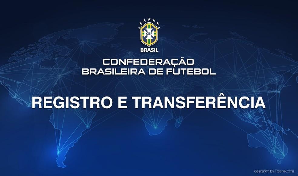 Raio-X do Mercado da Bola foi divulgado pela CBF nesta quinta-feira (Foto: Reprodução/CBF)