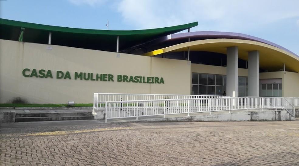 Casa da Mulher Brasileira no bairro Jaracaty, em São Luís. Local também recebe denúncias de violência contra a mulher — Foto: Laudiceia Galvão