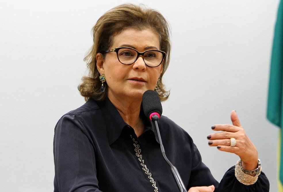 Teté Bezerra, agora ex-presidente da Embratur — Foto: Billy Boss/Câmara dos Deputados