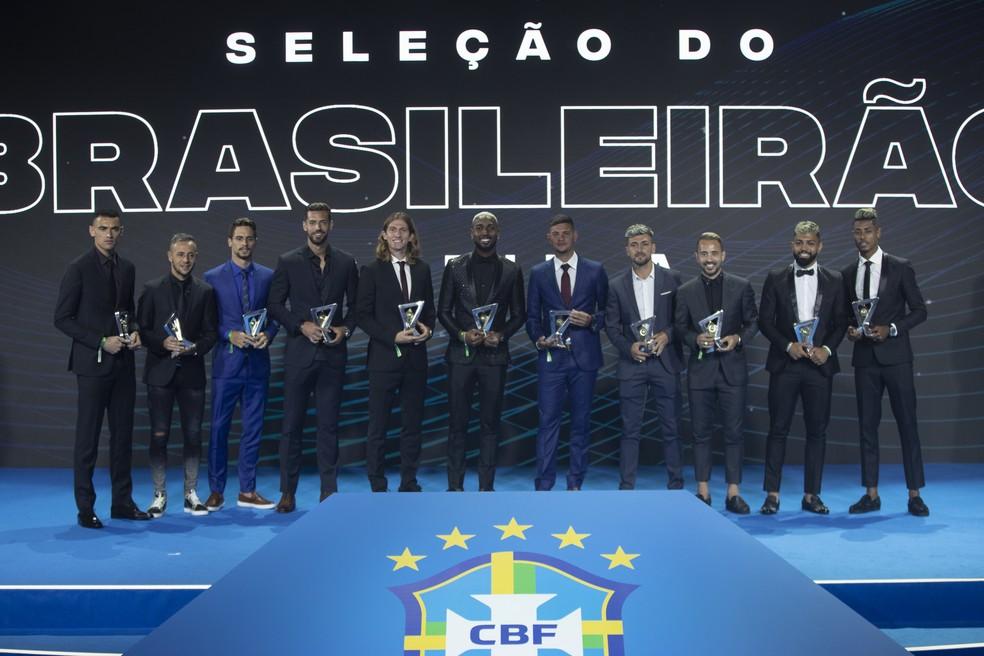 A seleção do Brasileirão 2019 — Foto: Lucas Figueiredo/CBF