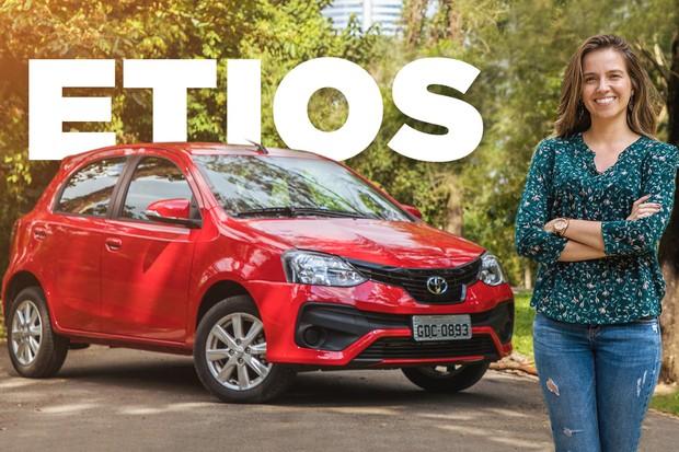 Vídeo: Toyota Etios (Foto: Autoesporte)
