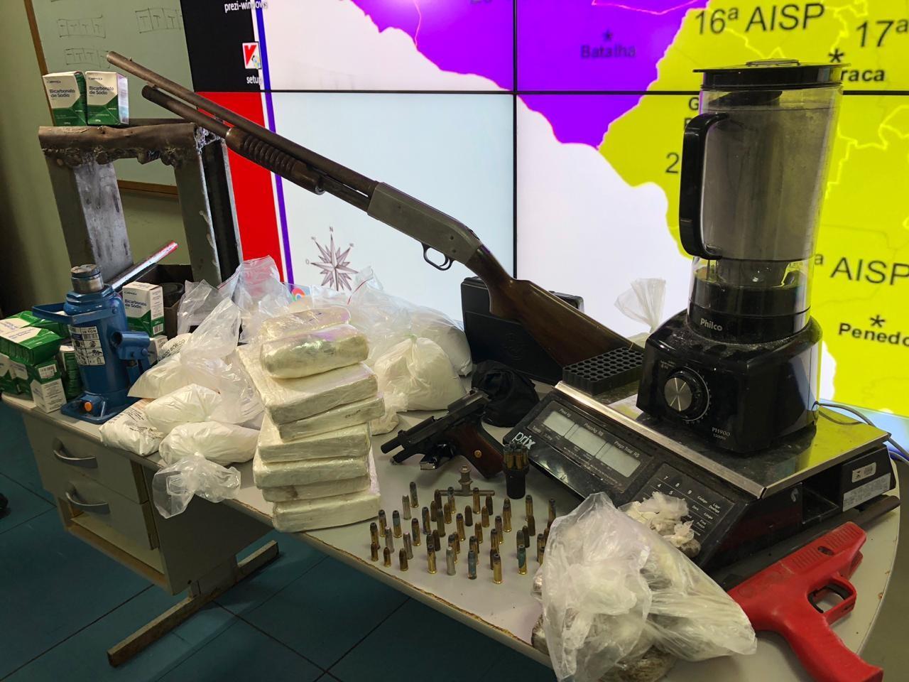 Operação desmonta laboratório de refino de cocaína em Rio Largo, AL - Notícias - Plantão Diário