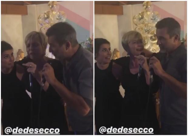Deborah Secco, Regiane Alves e Marcos Pasquim (Foto: Instagram/Reprodução)