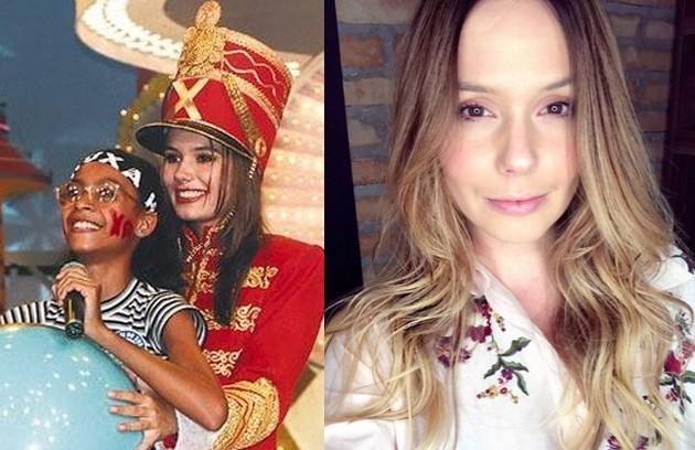 Graziella Schmitt se tornou atriz e, desde então, atuou em diversas produções. No ano passado, deu à luz a sua primeira filha, Constance (Foto: TV Globo / Reprodução Instagram)