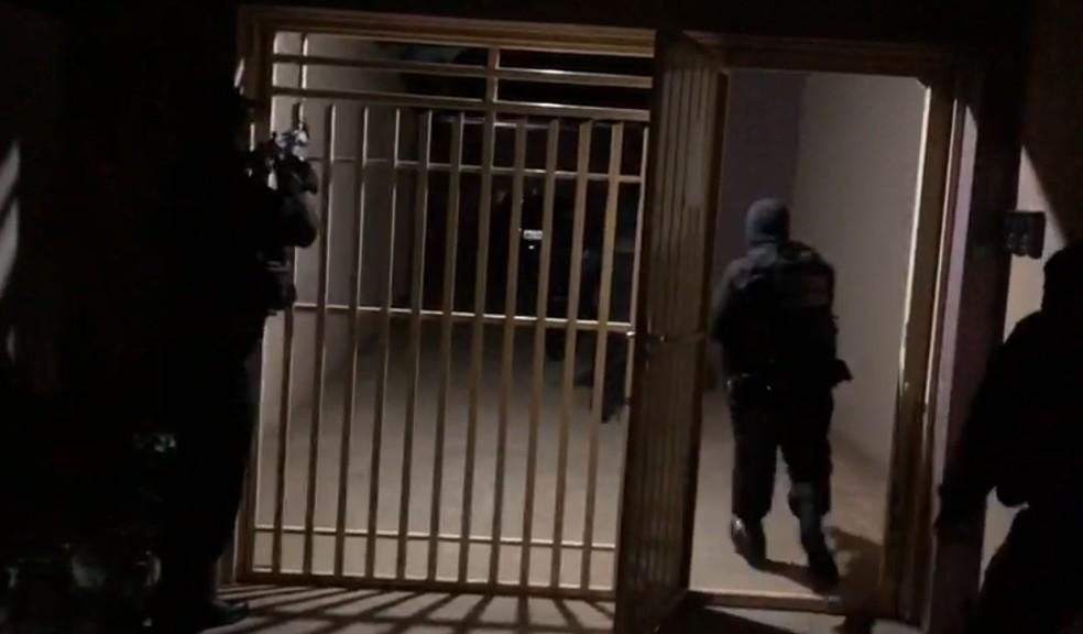 101 mandados de prisão são cumpridos no Paraná, segundo a PF — Foto: Divulgação/PF