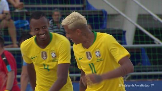 Brasil vence o Uruguai, avança em 1º da chave e encara a Argentina por vaga no Mundial