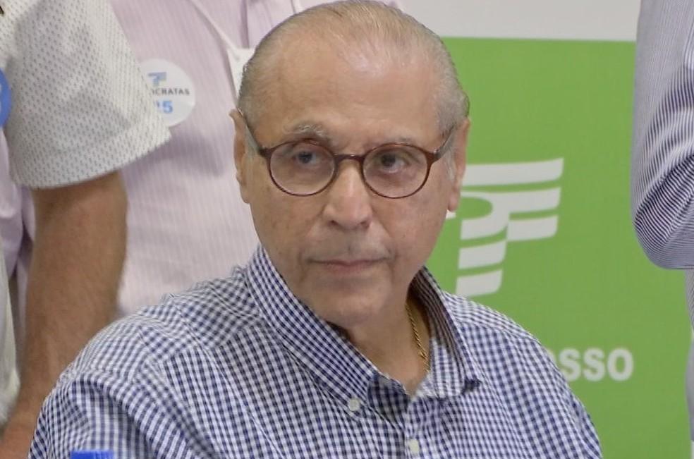 Júlio Campos, candidato ao Senado — Foto: TVCA/Reprodução