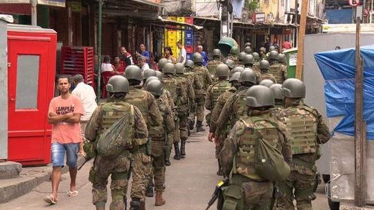 Ação na Rocinha tem 3 mortos, 16 presos e 22 fuzis apreendidos em 3 dias