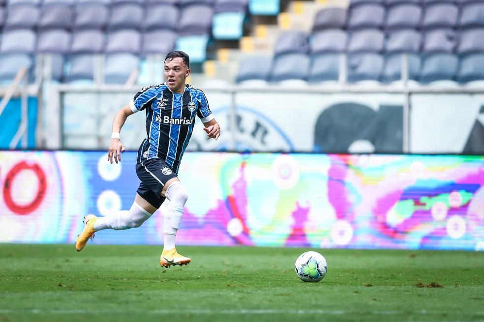 Pepê será reforço do Porto no segundo semestre de 2021 — Foto: Lucas Uebel/Divulgação Grêmio