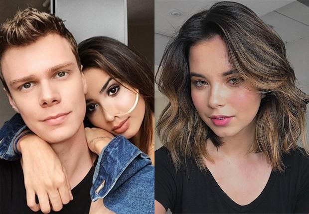 Pedro Rocha com Nara Almeida e com a atual namorada, Josy Carvalho (Foto: Reprodução/Instagram)