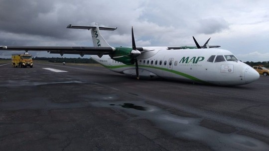 Áudio mostra piloto de avião que fez pouso forçado relatando problema elétrico