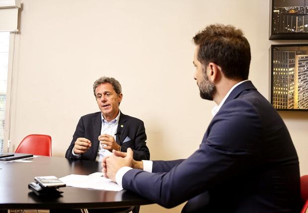 """Nicola Cotugno, da Enel: """"O cliente quer exercer sua possibilidade de decidir. Para isso precisamos de uma infraestrutura que possa dar a ele essa possibilidade"""" (Foto: Arthur Nobre/Época NEGÓCIOS)"""